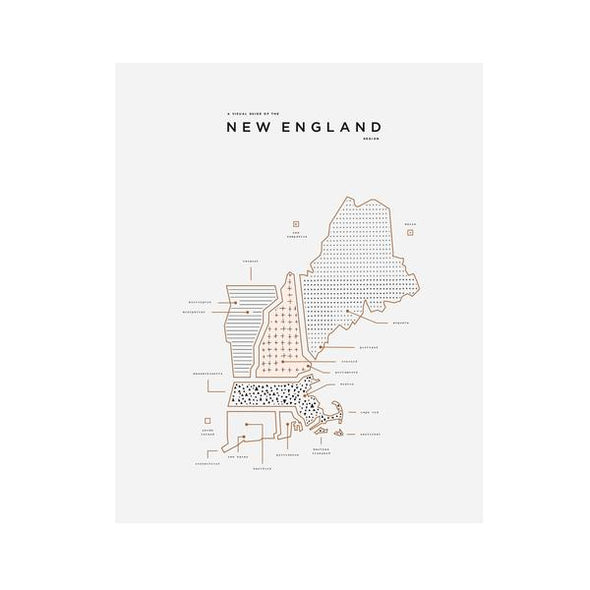 City Print: New England