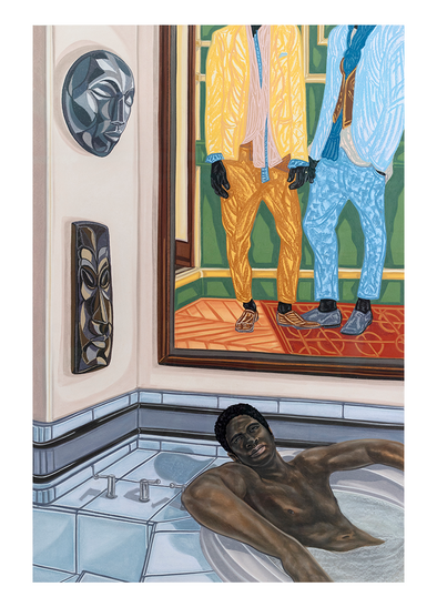 Postcard: Toyin Ojih Odutola, Heir Apparent