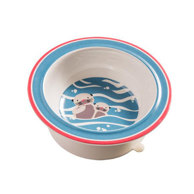 Suction Bowl: Otters