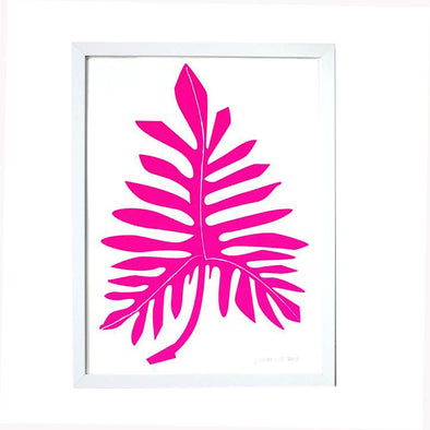 Print: Philodendron Pink
