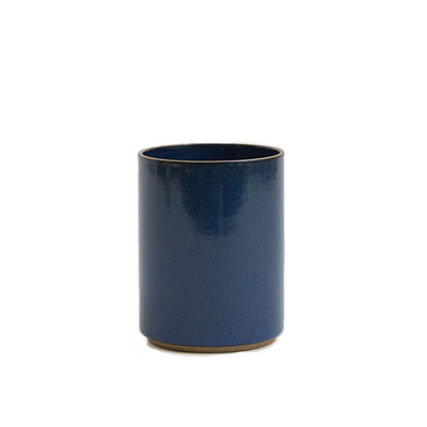 Small Porcelain Planter: Blue