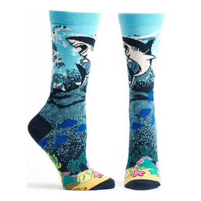 Socks: Great White Shark