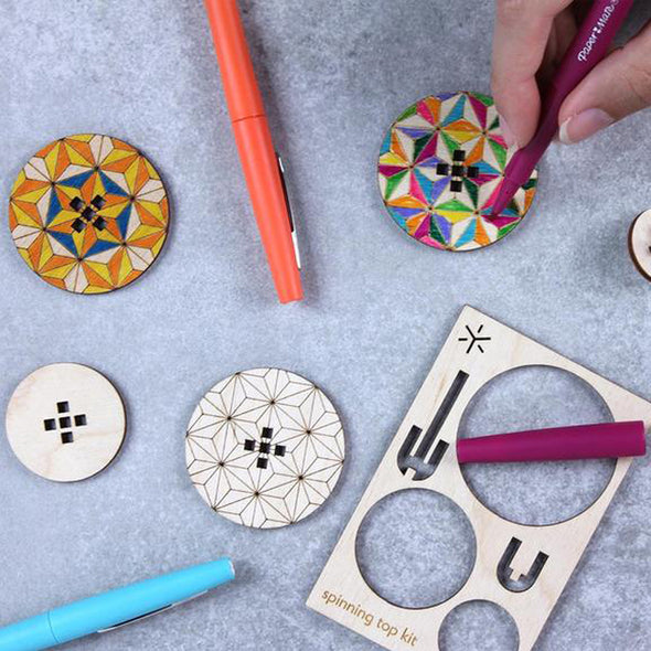 DIY Spinning Top: Star