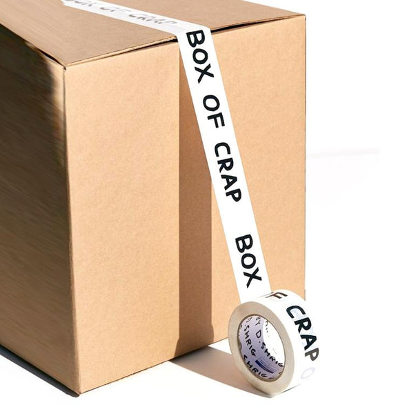 Packing Tape: Box of Crap