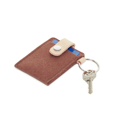 Felt Card Case: Terracotta