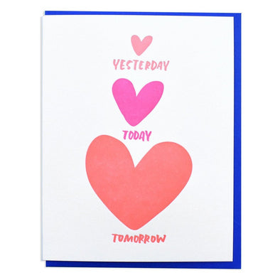 Card: Yesterday Today Tomorrow
