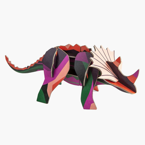 Triceratops Paper Model