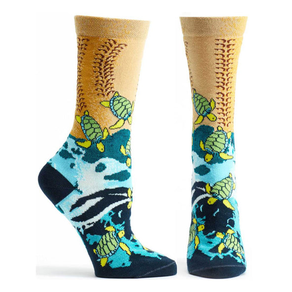 Socks: Sea Turtle