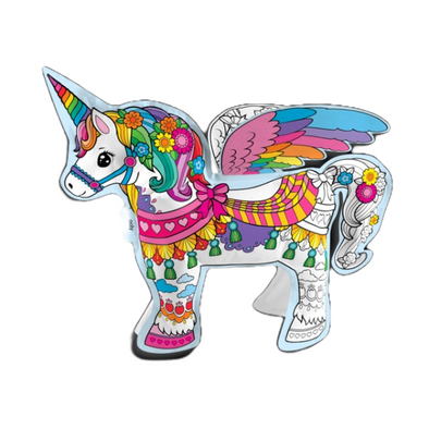 3D Colorables: DIY Unicorn