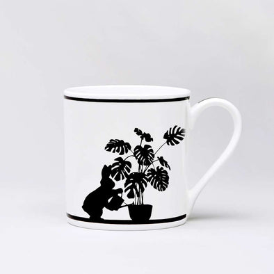Mug: Watering Rabbit