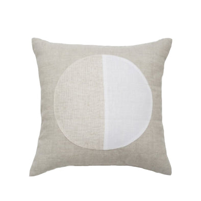Pillow: Linen/White Moon