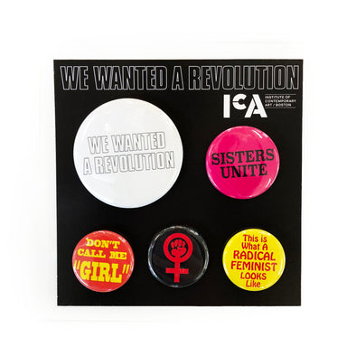 We Wanted a Revolution Button Set