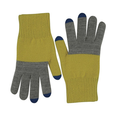 Tech Gloves: Yellow Olive