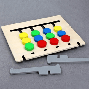 Double-Sided Puzzle Game