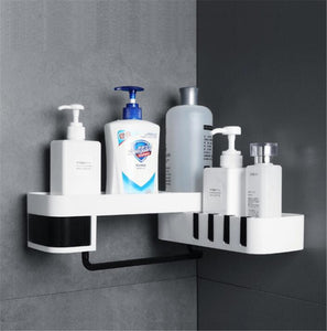 Bathroom Rotating Storage Shelf
