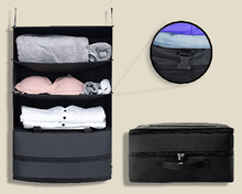 Load image into Gallery viewer, Portable Travel Closet Organiser