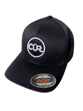 Load image into Gallery viewer, CÜR Flexfit Cap (Black)
