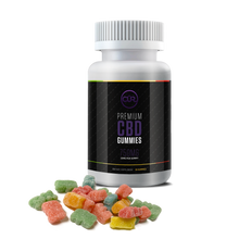 Load image into Gallery viewer, CBD Gummies - 25mg Bears/750mg Bottle