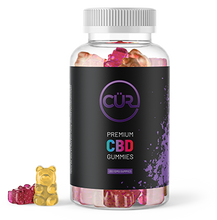 Load image into Gallery viewer, Premium CBD Gummy Bears - Find Your CUR CBD