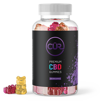 Premium CBD Gummy Bears - Find Your CUR CBD