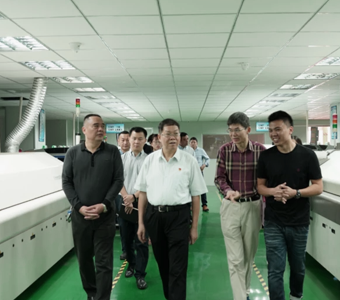 "Grasping the Opportunity of ""Molding Number"" to Accelerate Transformation and Innovation Development Nan'an City Leaders to Xiamei Town to Investigate the Development of Interphone Industry"
