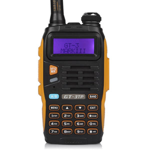 GT-3TP Mark III 8W/4W/1W Dual Band Radio