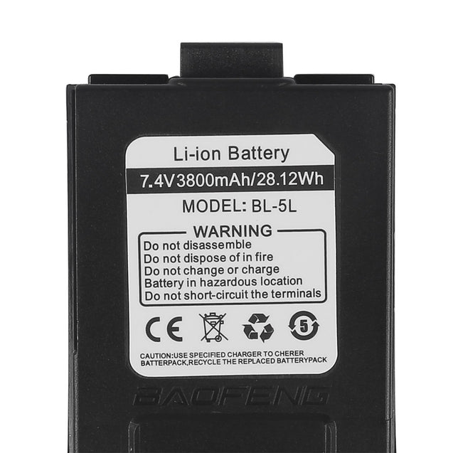 Battery 3800mAh for Baofeng GT-3 & GT-3TP