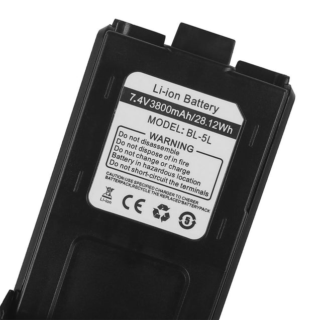 Battery 3800mAh for RD-5R/UV-5R/UV-5R Plus/UV-5RTP/UV-5RA