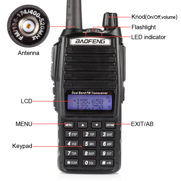 UV-82L 5W Dual Band Radio