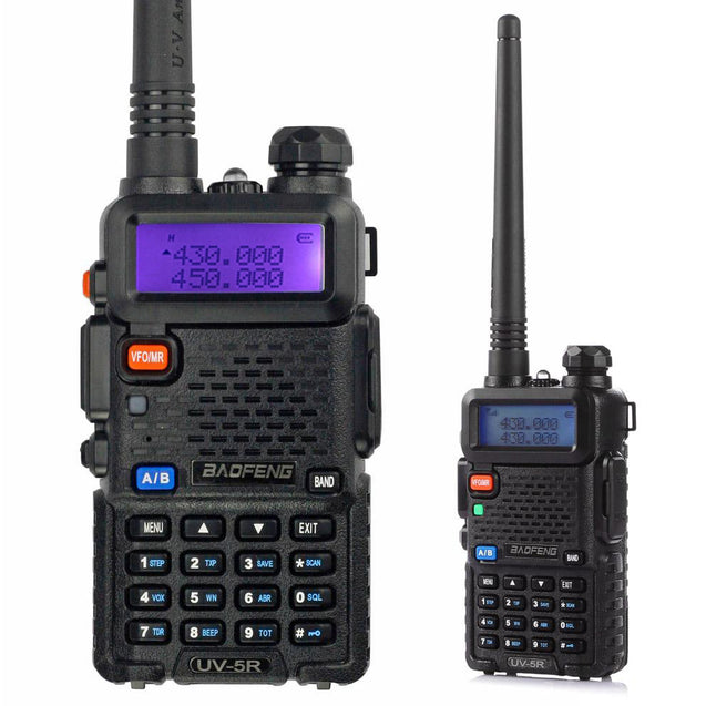 UV-5R 5W Dual Band Radio [5 PACKS] with Programming Cable