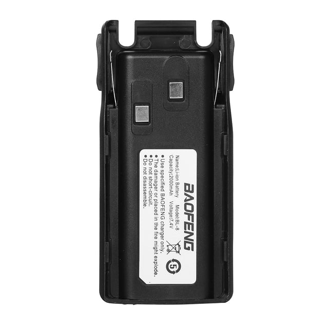 Battery 2000mAh for UV-82/UV-82L/UV82HP