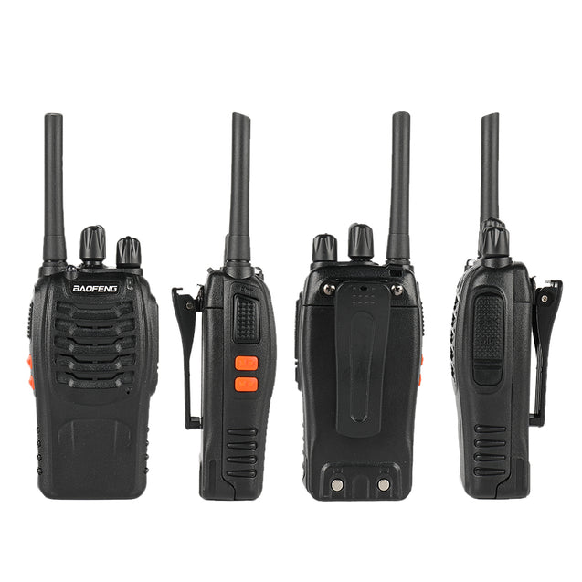 BF-88A/E [2 Pack] 2W/0.5W FRS/PMR Radio