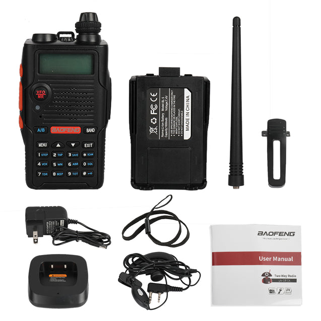 UV-5R EX 5W Dual Band Radio