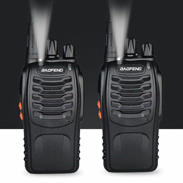 BF-888S [5 Pack + Cable] 5W UHF Radio