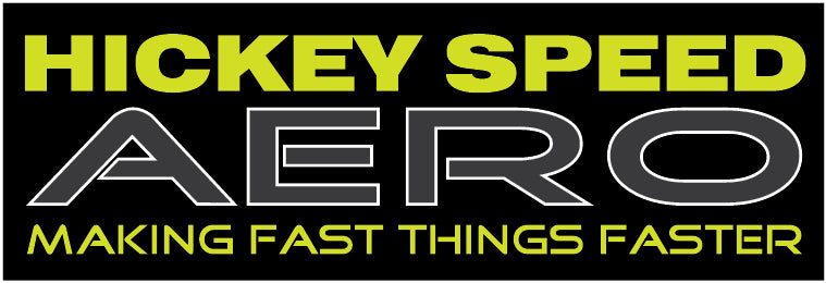 Hickey Speed Aero Sticker