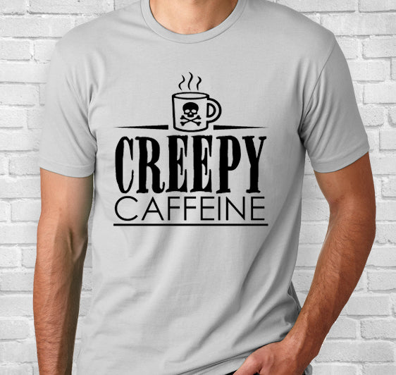 Creepy Caffeine Logo Short-Sleeve Unisex T-Shirt