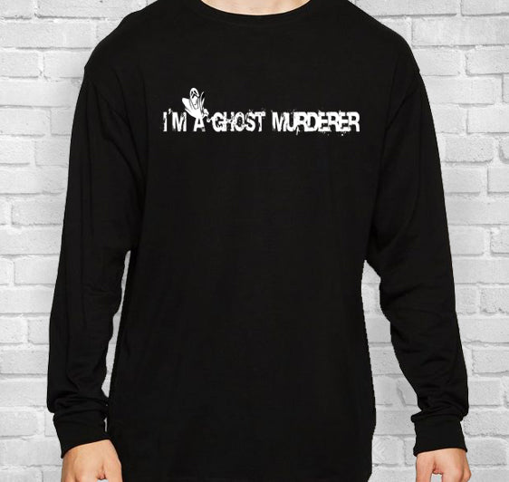 Ghost Murderer Long-Sleeve Unisex T-Shirt