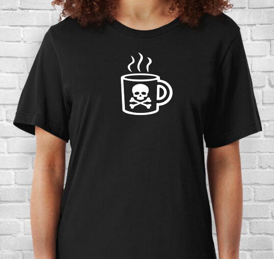 Creepy Caffeine Mug Short-Sleeve Unisex T-Shirt
