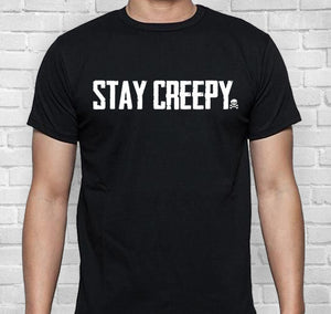 Stay Creepy Short-Sleeve Unisex T-Shirt
