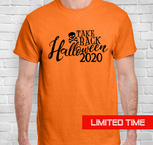 Take Back Halloween Short-Sleeve Unisex T-Shirt