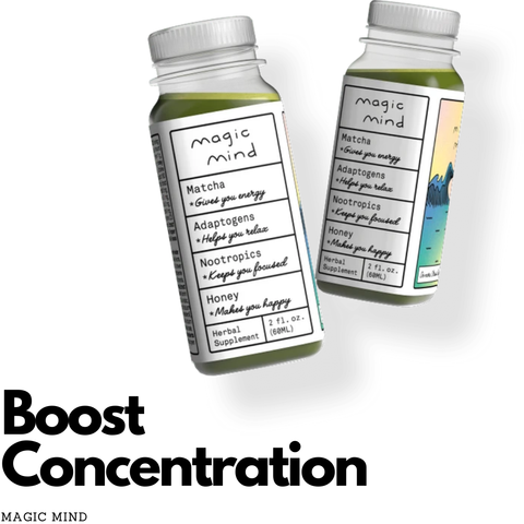 Boost Concentration-Magic Mind