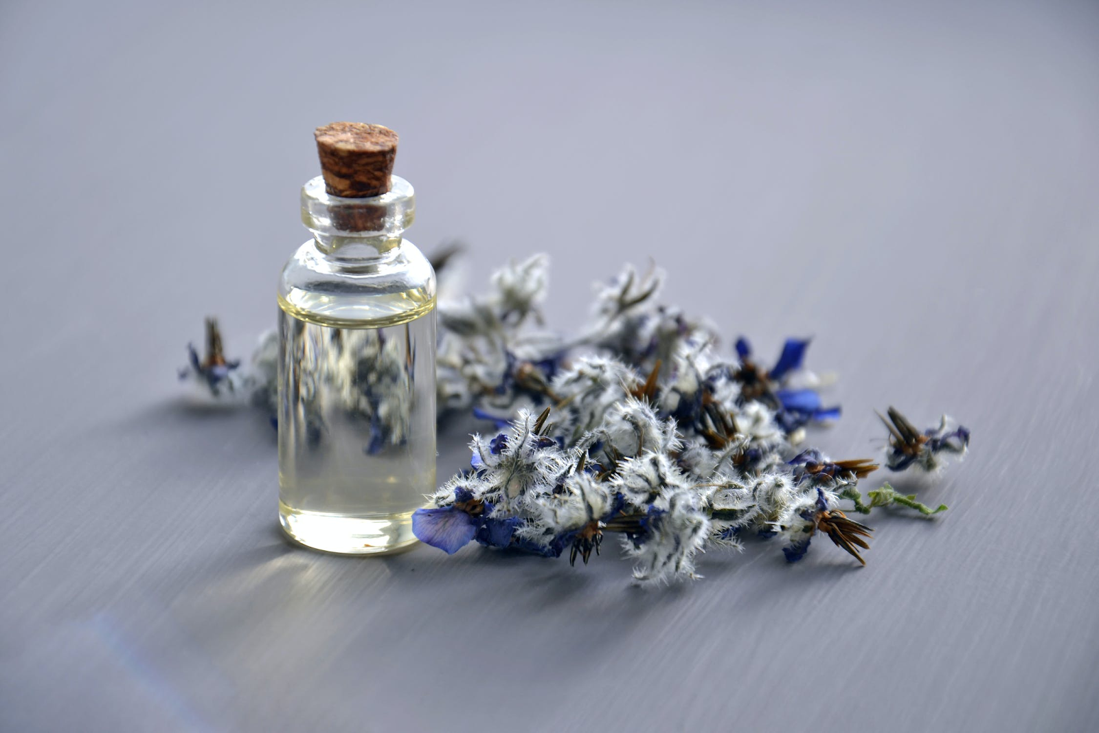 Essential oil made from flowers
