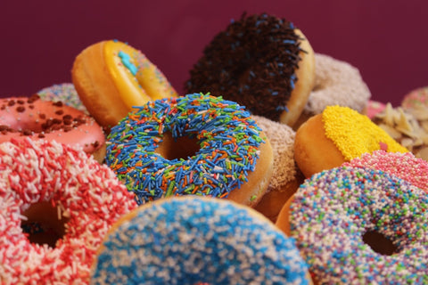 artificially flavored donuts