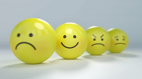 For yellow emoticons showing different emotions