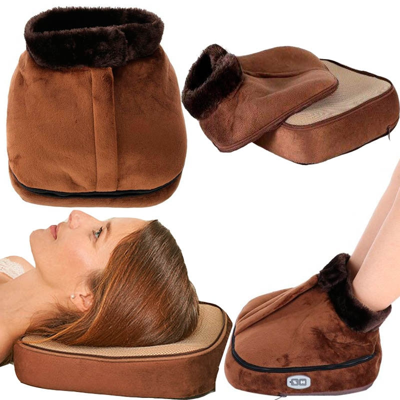 Sarique®️ Electric Foot Massager vibrator Heated Warmer