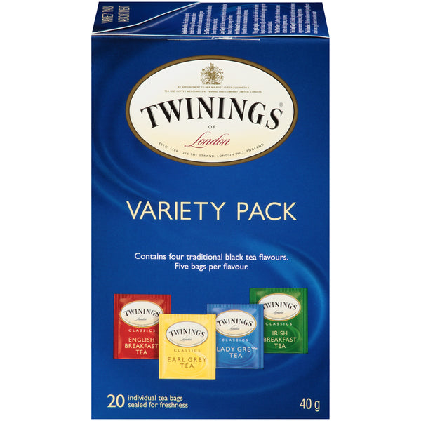 Twinings Tea - Variety Pack - 20's