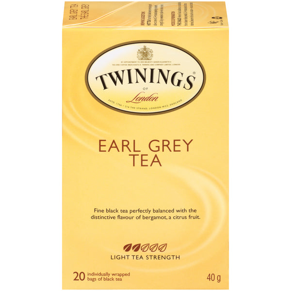 Twinings Tea - Earl Grey - 20's