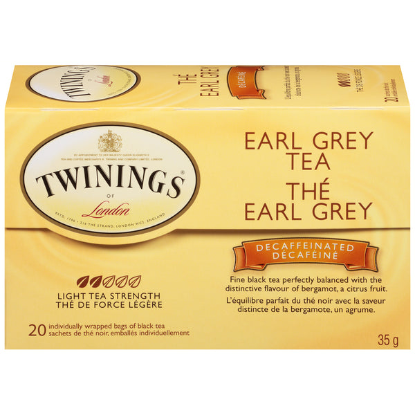 Twinings Tea - Decaf Earl Grey - 20's