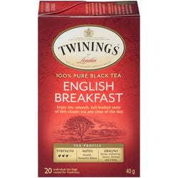 Twinings Tea - English Breakfast - 20's