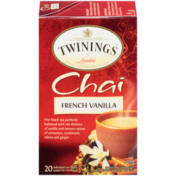 Twinings Tea - French Chai - 20's